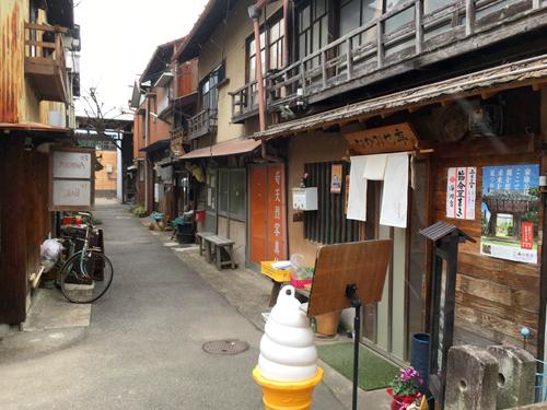 old arcade in Okazaki